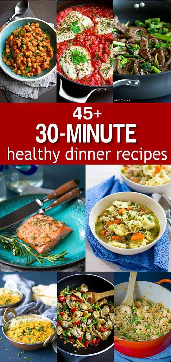 10+ 10-Minute Healthy Dinner Ideas - Easy Recipes - Food Recipes Easy Healthy