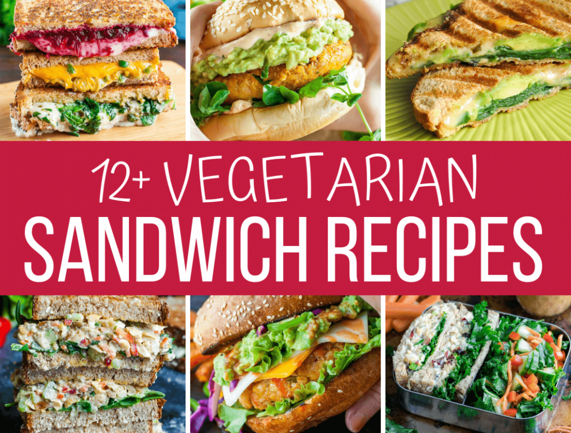 10+ Amazing Vegetarian Sandwiches - Recipes and More! - Sandwich Recipes Vegetarian