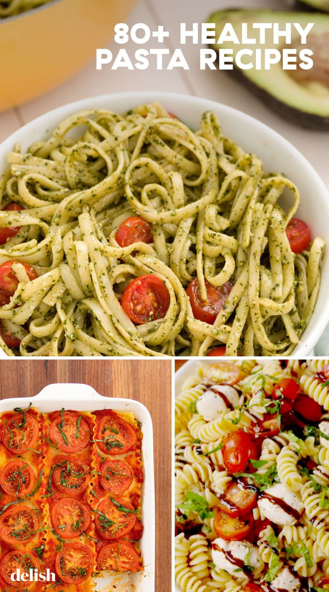 10+ Best Healthy Pasta Recipes – Easy Ideas for Healthy Pasta ..