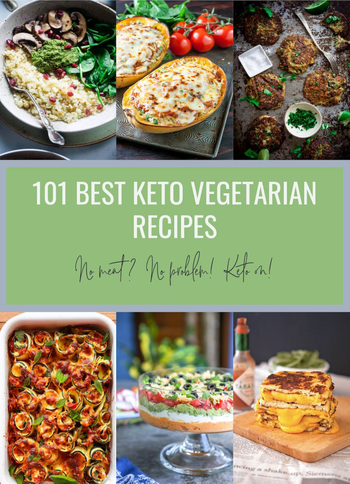 10 Best Keto Vegetarian Recipes - Low Carb | I Breathe I'm Hungry