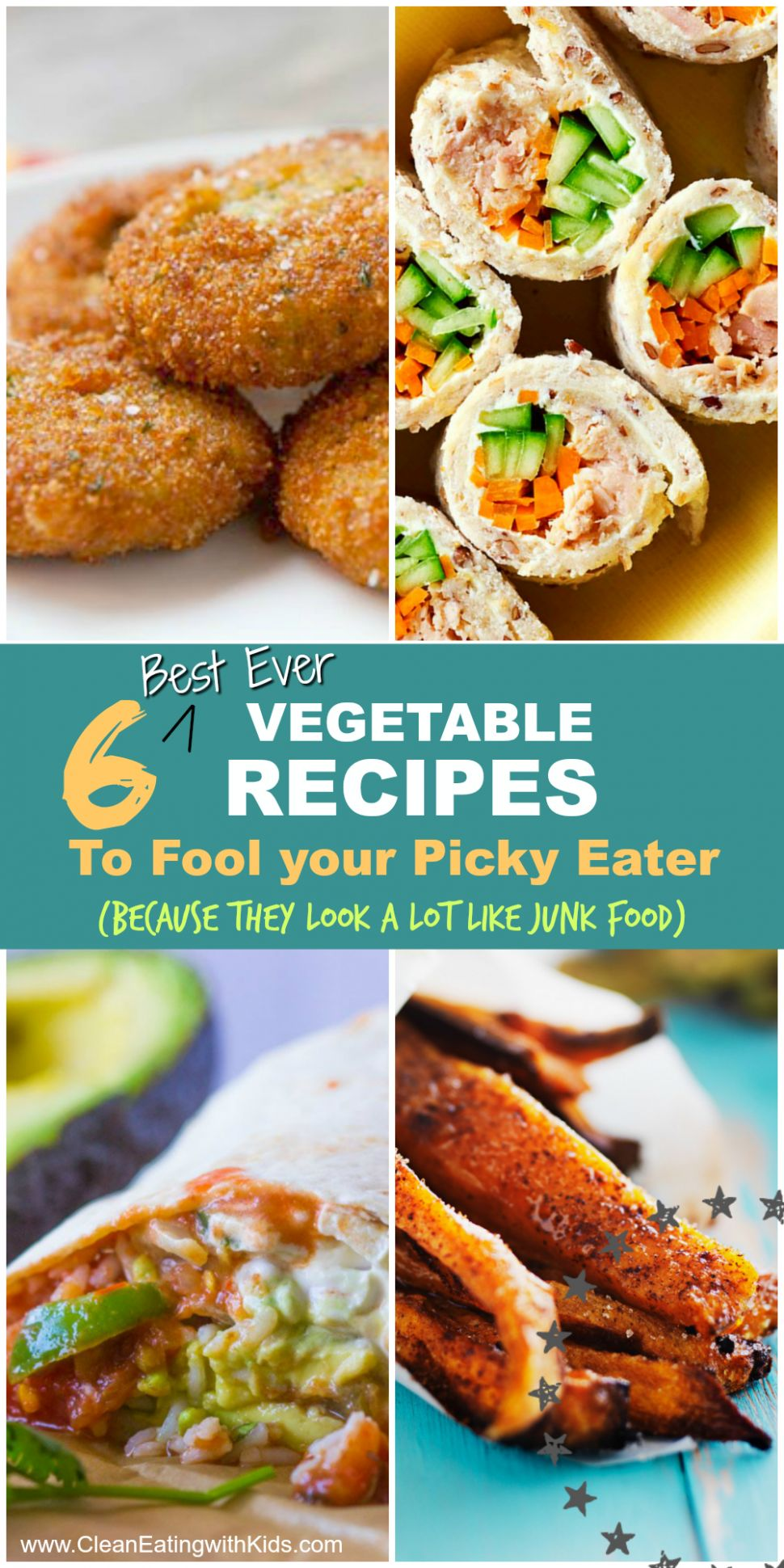 10 Best Vegetable Recipes to Fool Your Picky Eater - Clean Eating ...