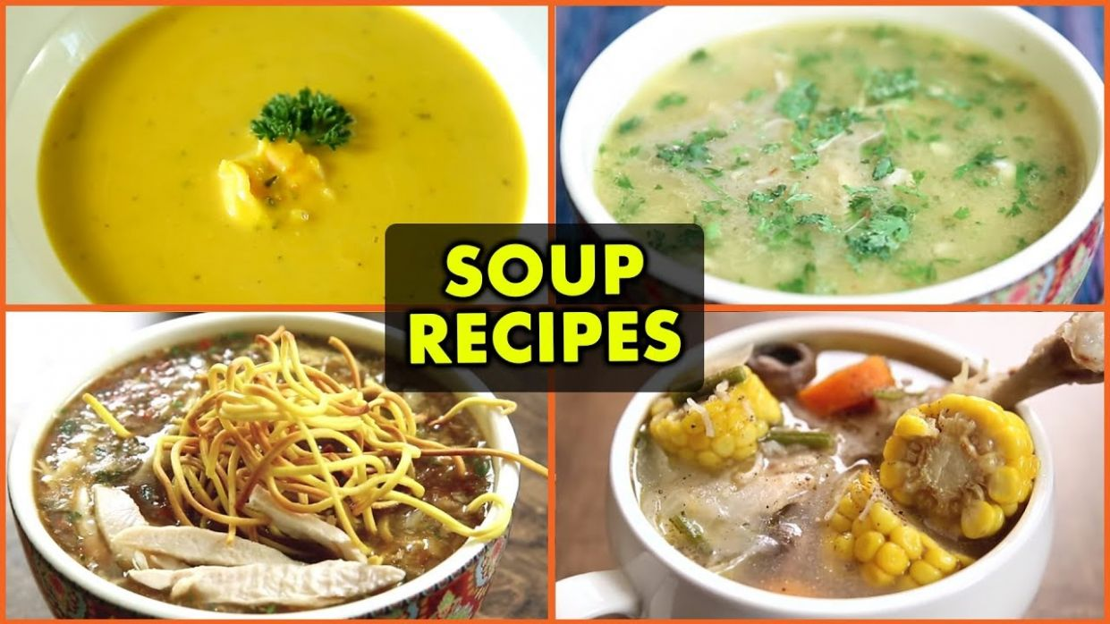 10 BEST Winter Soup Recipes - Quick & Easy Soup Recipes - Non-Vegetarian  Soup Recipes - Soup Recipes Quick And Easy