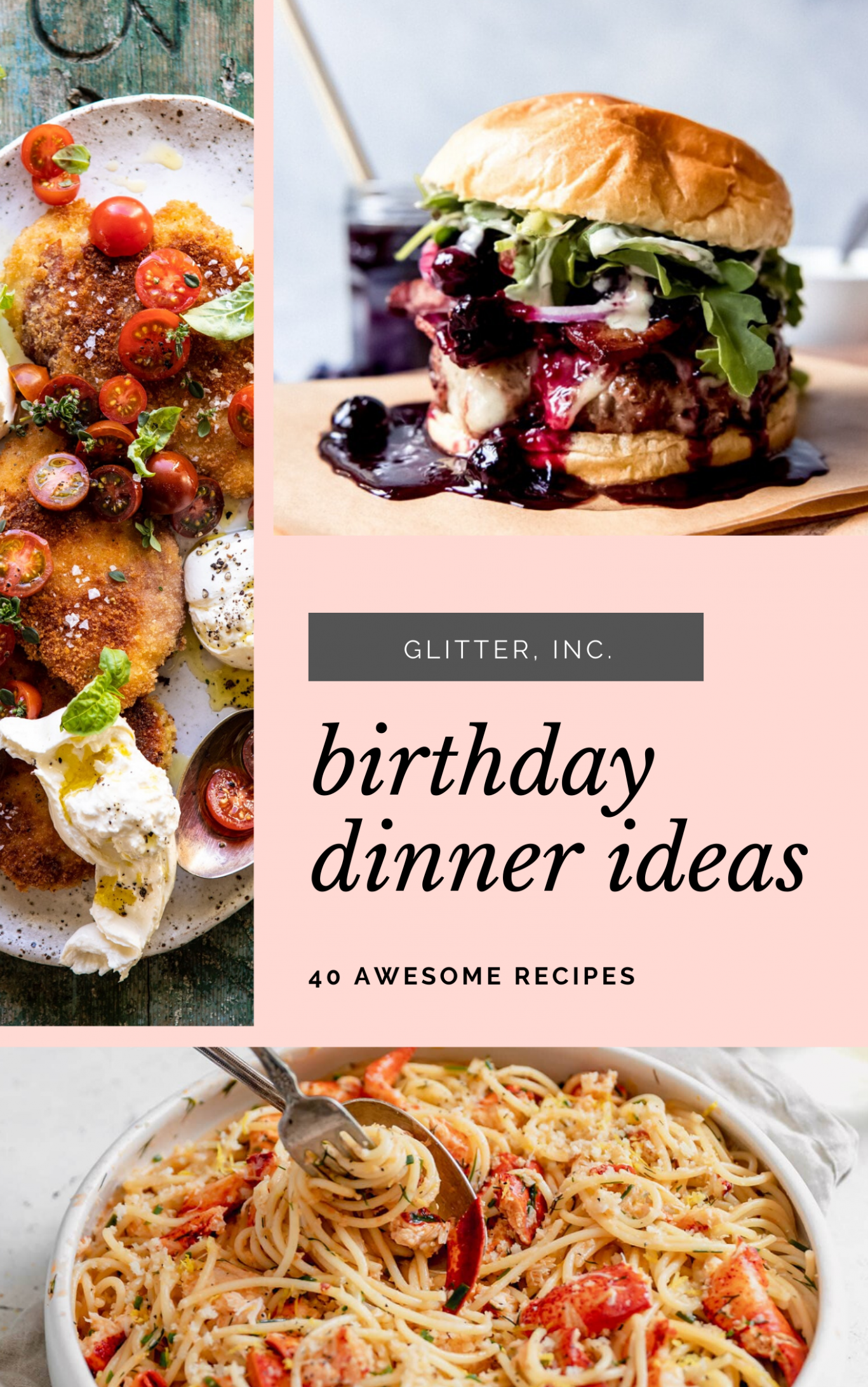 10 Birthday Dinner Ideas At Home | Glitter, Inc