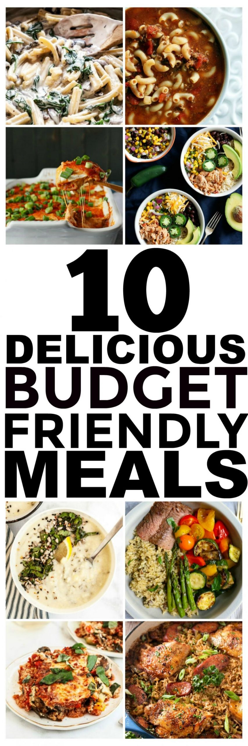 10 Budget Recipes and Cheap Easy Meals You Should Try - Easy Cheap Recipes