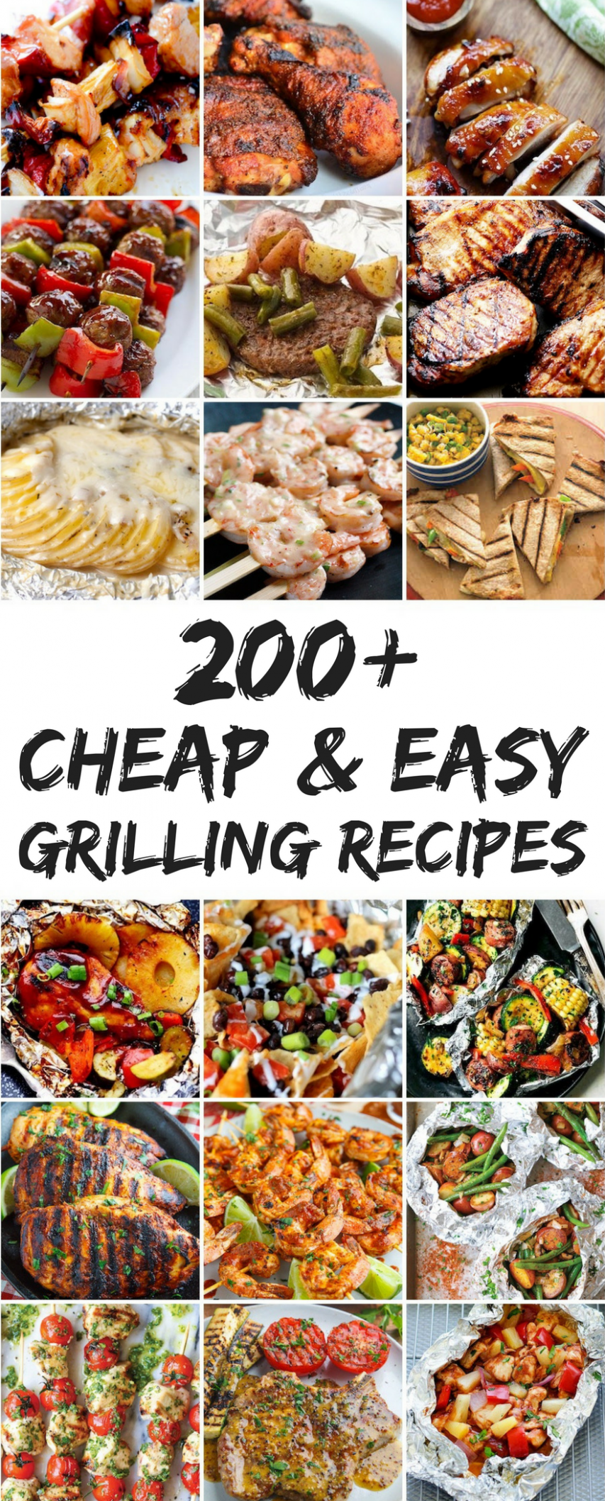 10 Cheap and Easy Grilling Recipes | Grilling recipes, Summer ...