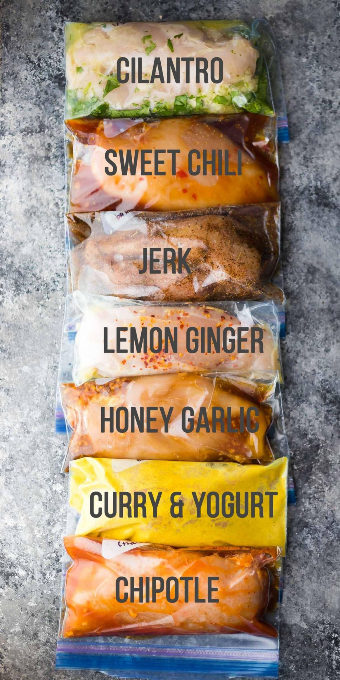 10 Chicken Marinade Recipes You Can Freeze