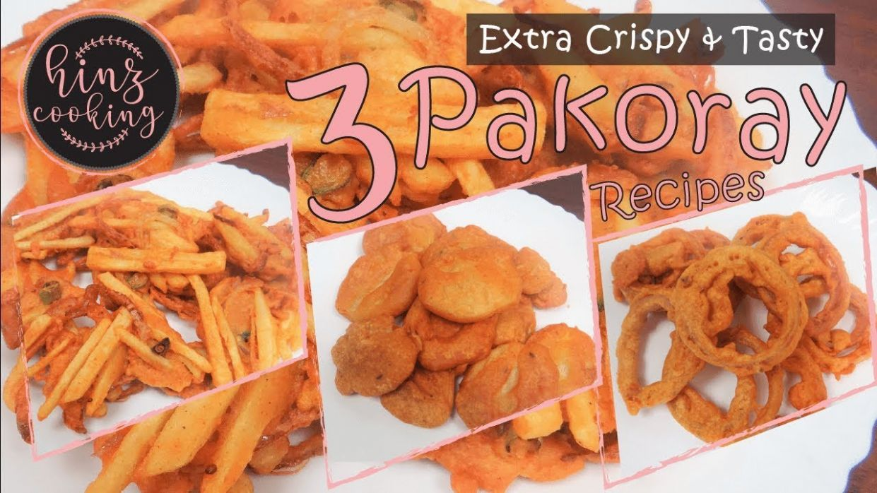 10 Crispy Pakora Recipe - Besan Pakora - Ramadan Recipe for Iftar - Urdu Recipes Of Pakora