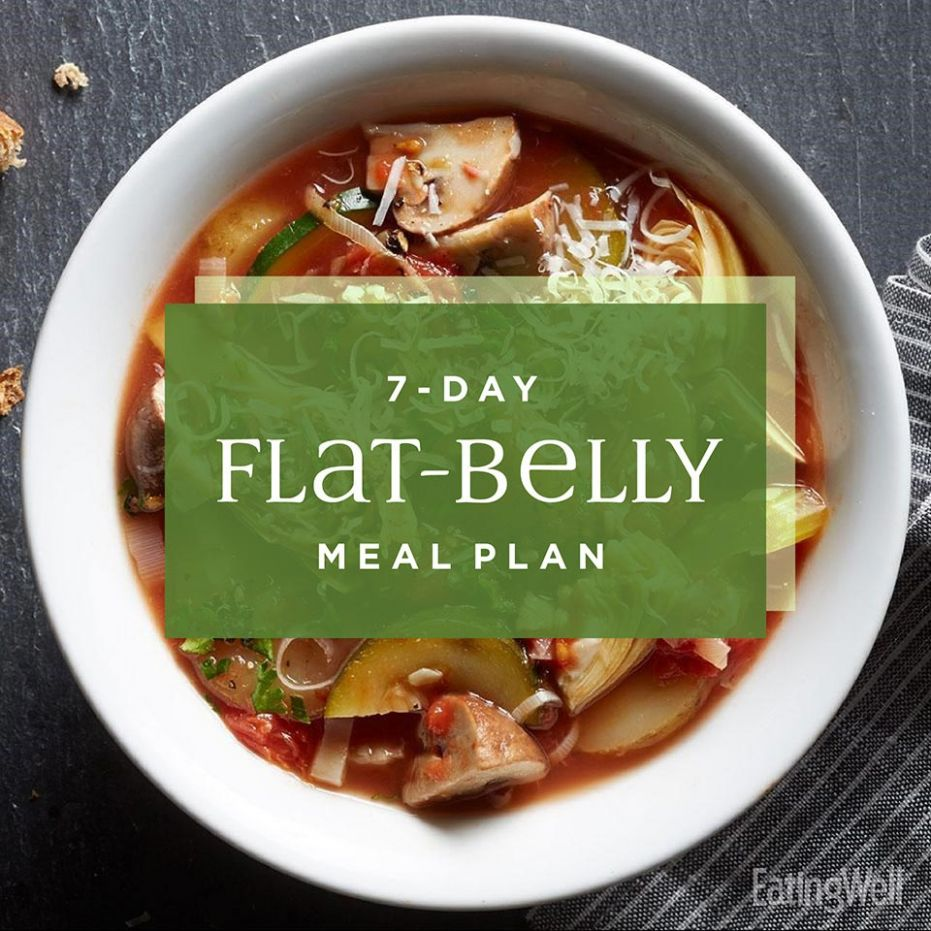 10-Day Flat-Belly Meal Plan | EatingWell - Food Recipes To Lose Belly Fat