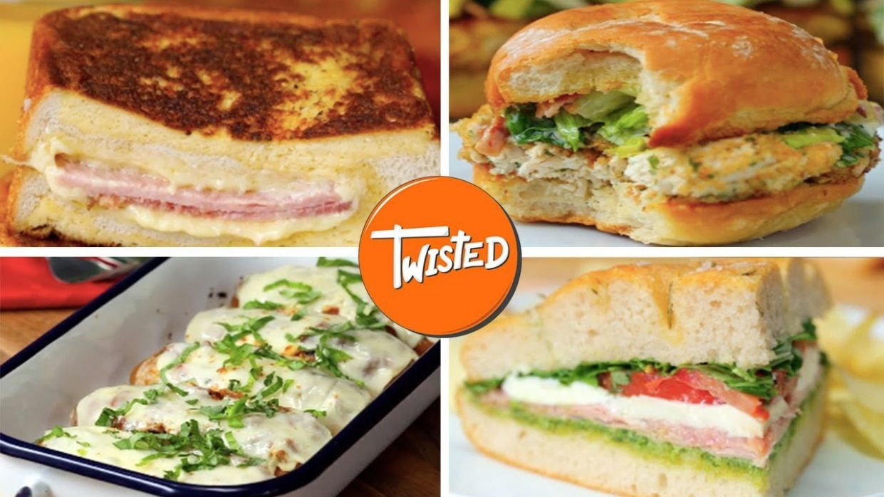 10 Delicious Sandwich Recipes For Lunch - Sandwich Recipes Yummy