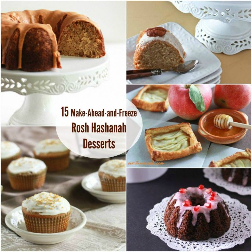 10 Desserts to Make Ahead and Freeze for Rosh Hashanah | Rosh ...