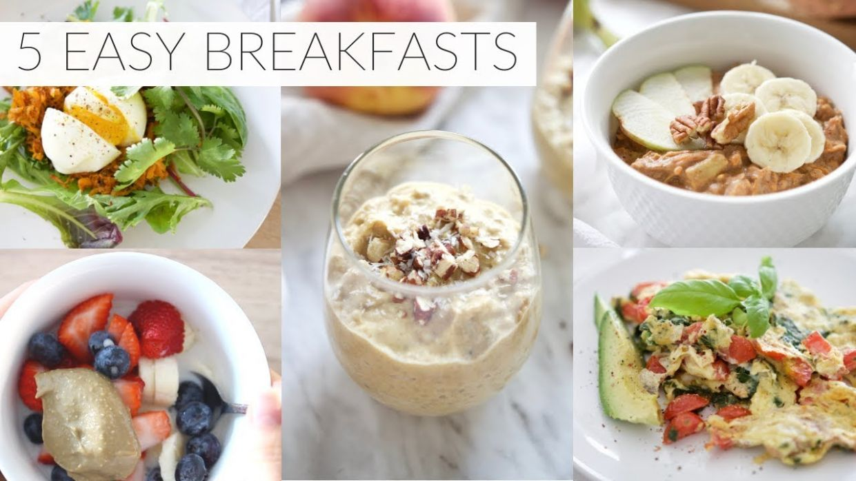 10 EASY BREAKFAST RECIPES | healthy paleo + dairy-free breakfast ideas