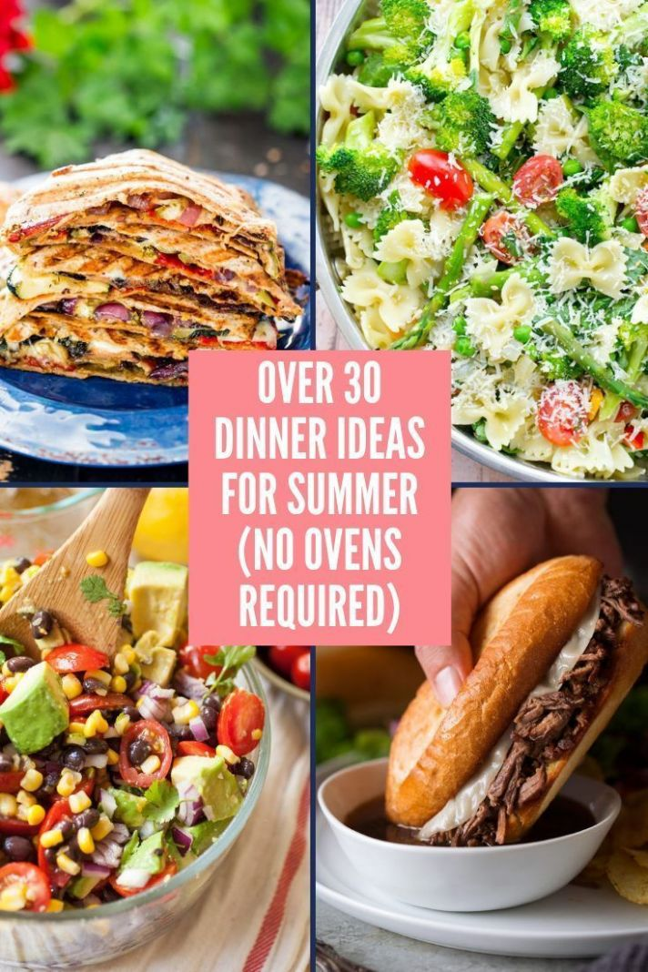 10+ Easy Dinner ideas for summer | Dinner, Easy dinner recipes ..