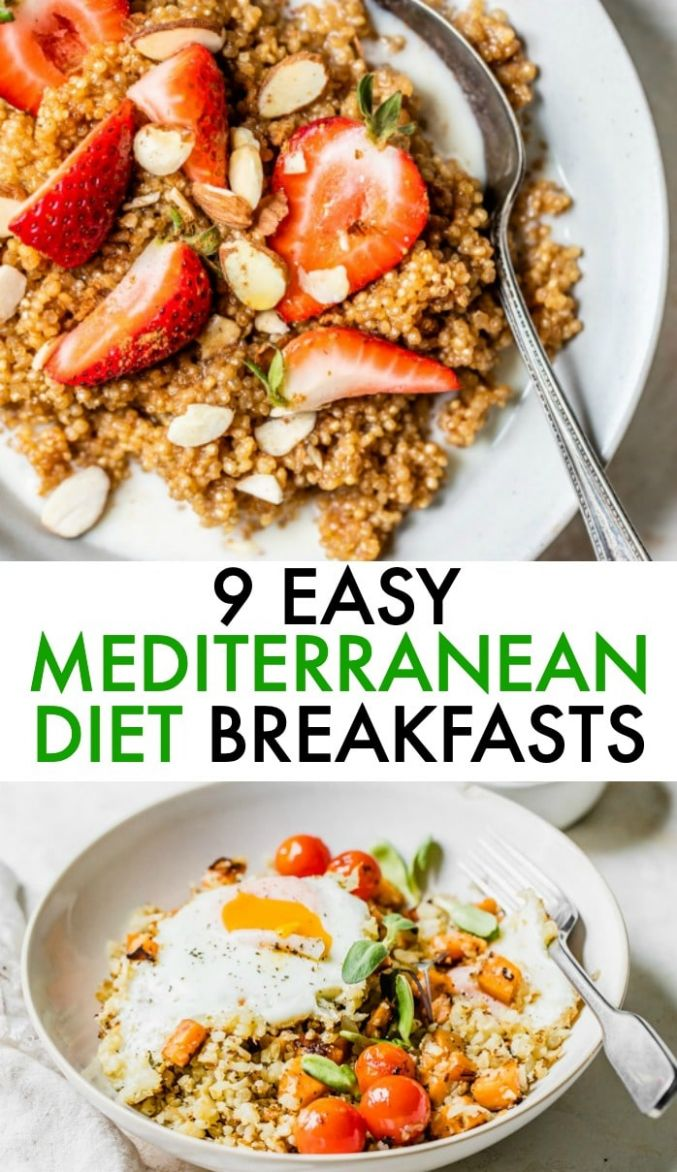 10 Easy Mediterranean Diet Recipes : The Almond Eater