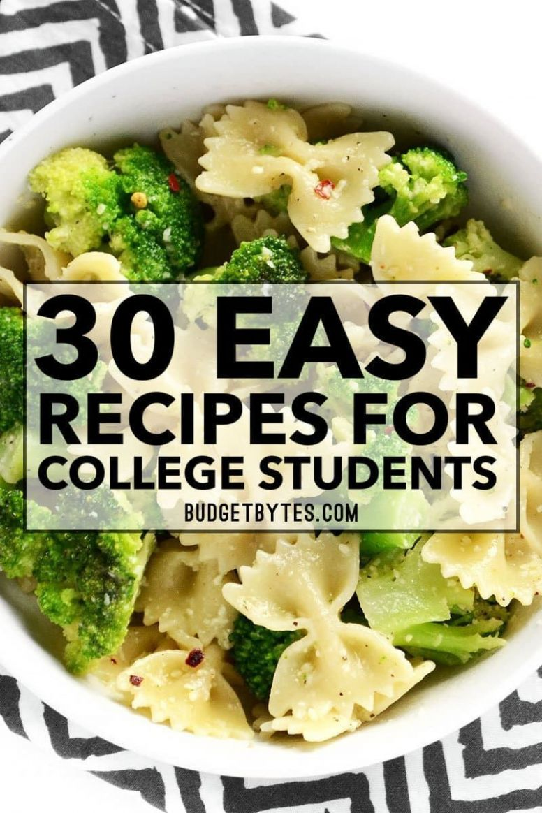 10 Easy Recipes for College Students#college #easy #recipes ...
