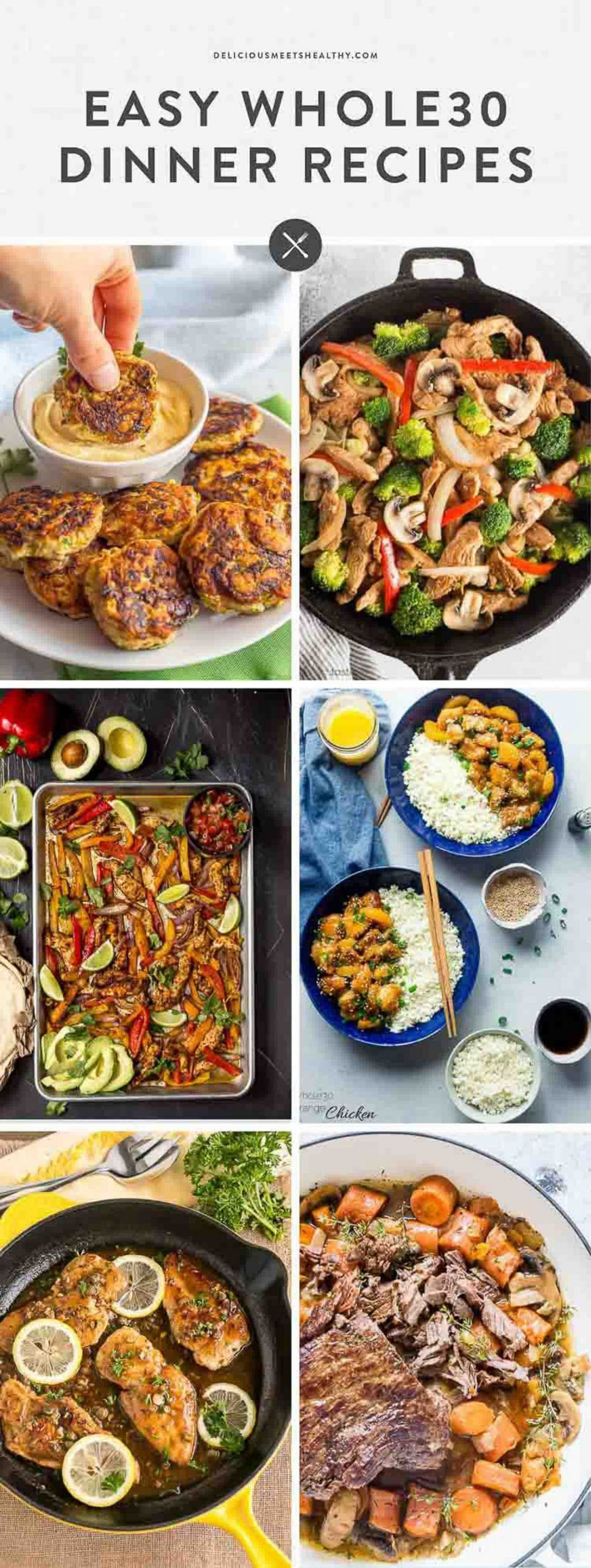 10 Easy Whole10 Dinner Recipes | Delicious Meets Healthy - Dinner Recipes Name