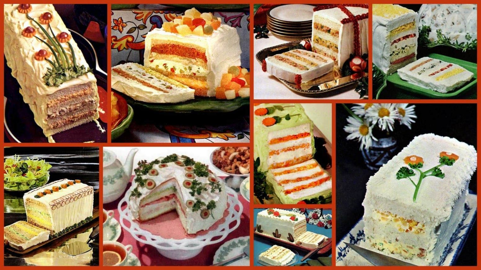 10 frosted party sandwich loaf recipes to make... or avoid - Click ..