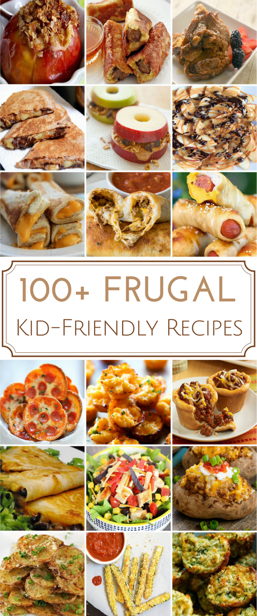 10 Frugal Kid-Friendly Recipes | Kid friendly meals, Picky eaters ..