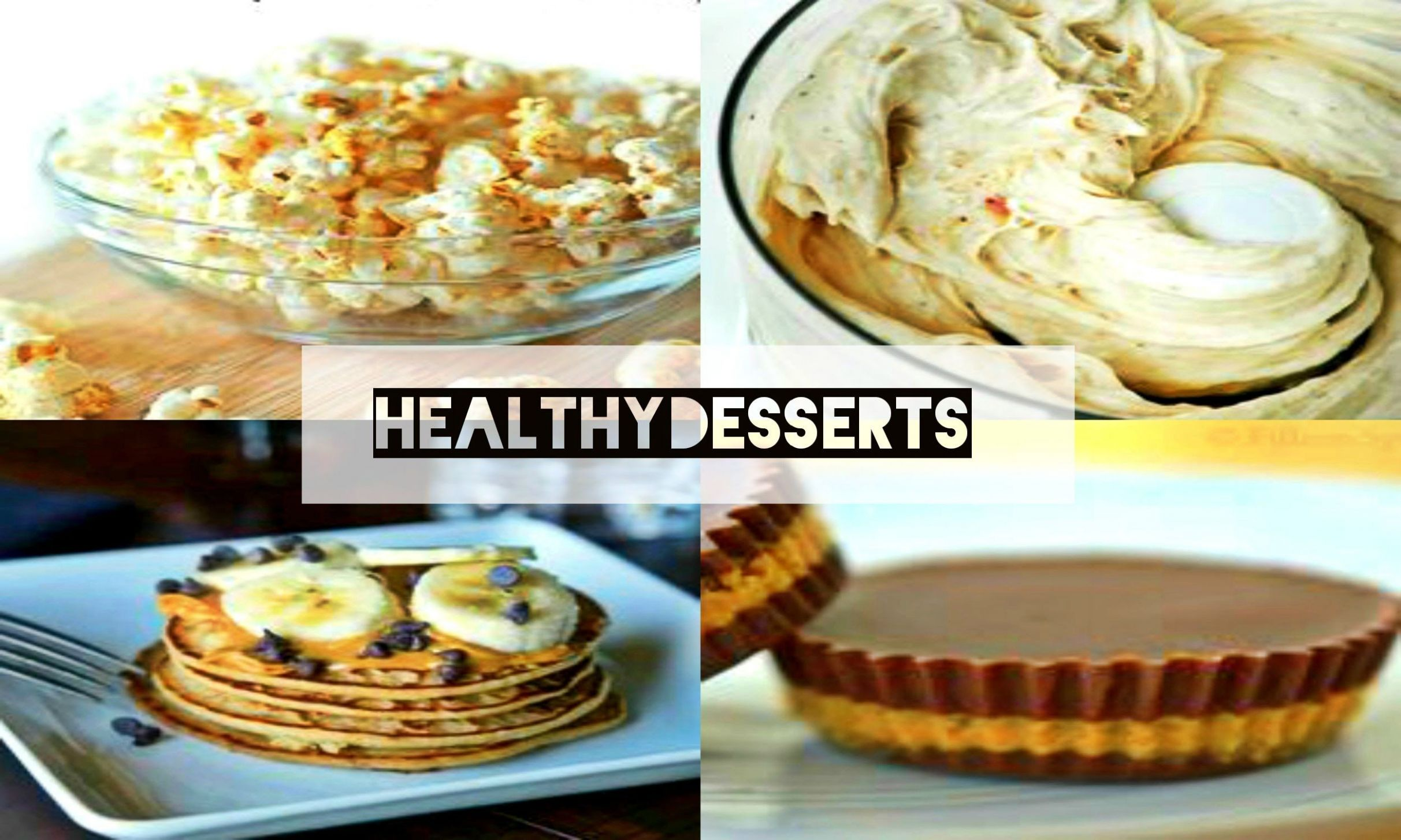 10 Healthy Dessert Recipes | Shannon Fox || | Quick healthy ...