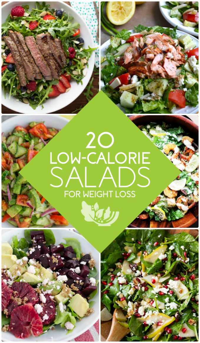 10 Healthy Low-Calorie Salads for Weight Loss - Salad Recipes Low Calorie