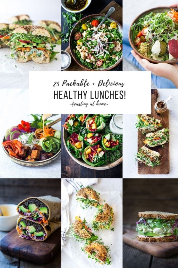 10 Healthy Lunches! - Healthy Recipes Easy Lunch