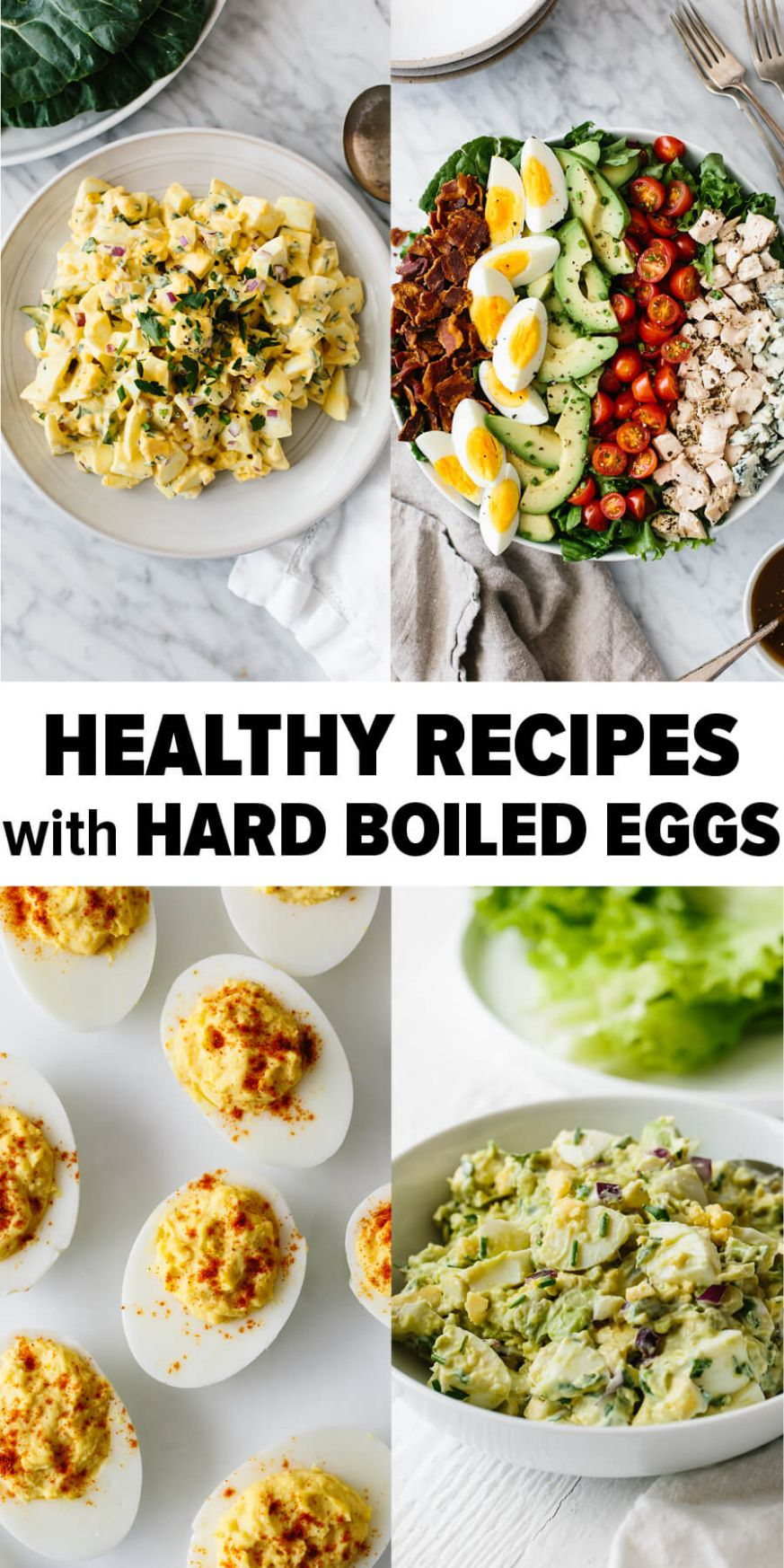 10 Healthy Recipes to Make with Hard Boiled Eggs | Downshiftology
