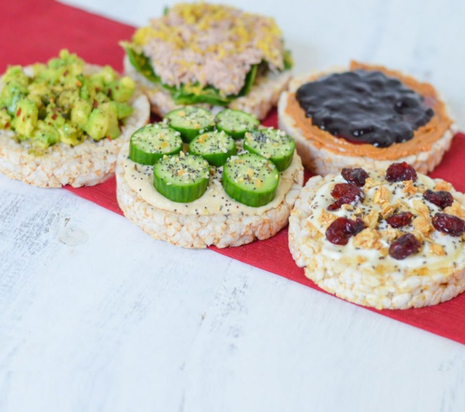 10 Healthy Rice Cake Toppings + Meal Ideas   Luci's Morsels