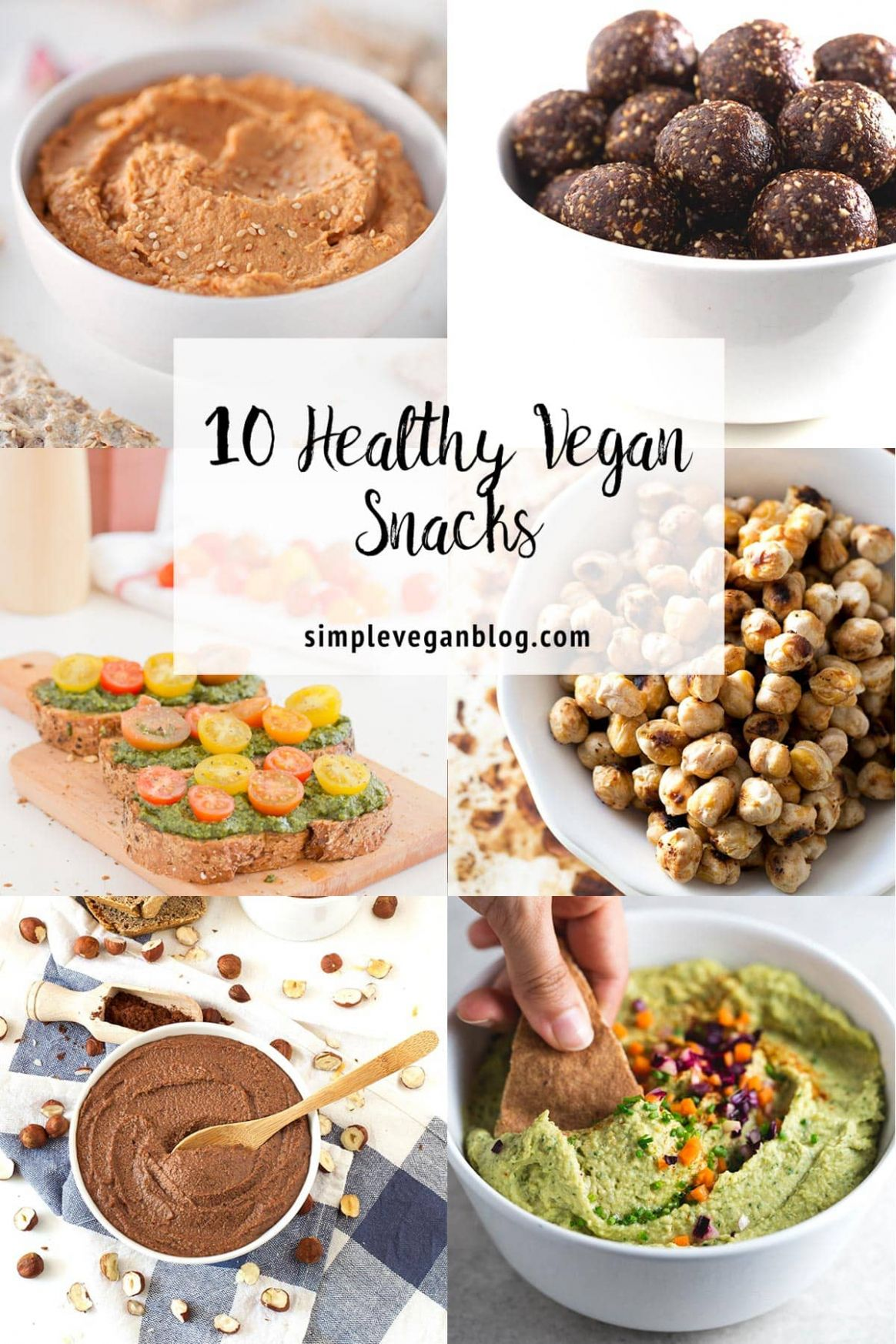 10 Healthy Vegan Snacks - Simple Vegan Blog