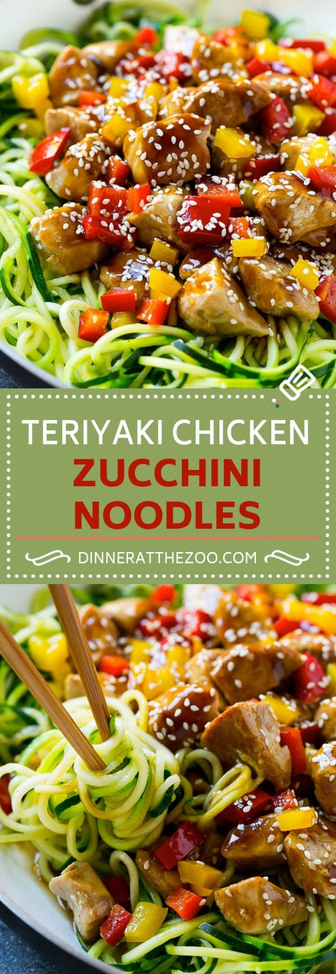 10 Healthy Zoodle (Zucchini Noodle) Recipes - Dinner at the Zoo - Dinner Recipes With Zoodles
