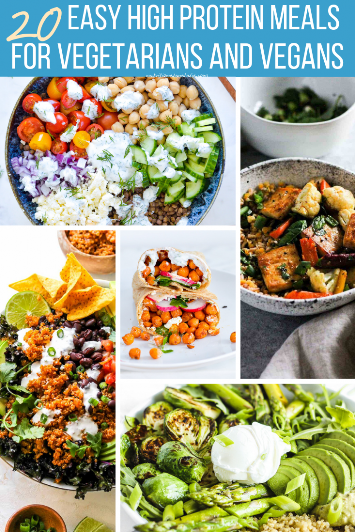 10 High Protein RD-Approved Vegetarian Recipes To Keep You Full - Recipes Vegetarian High Protein