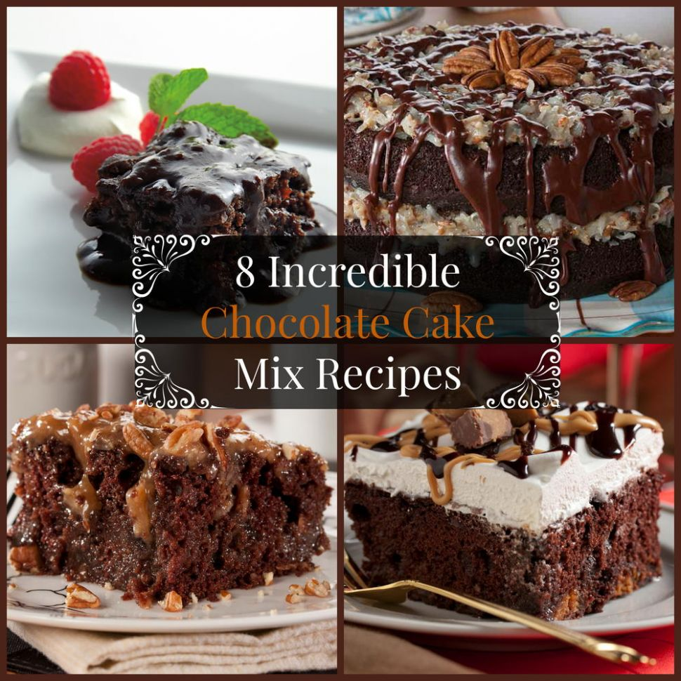 10 Incredible Chocolate Cake Mix Recipes | MrFood