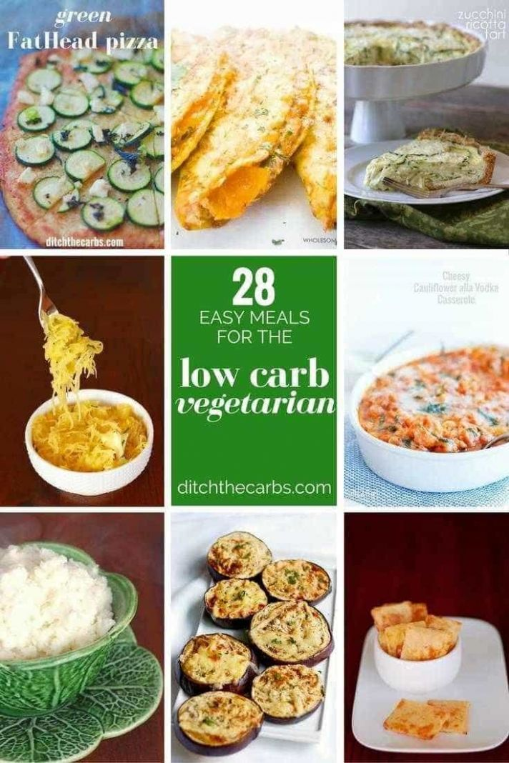 10 Incredible Low Carb Vegetarian Meals — Ditch The Carbs