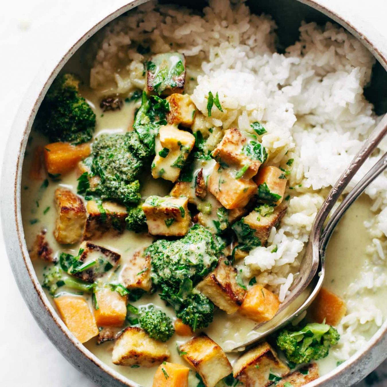 10-Ingredient Green Curry