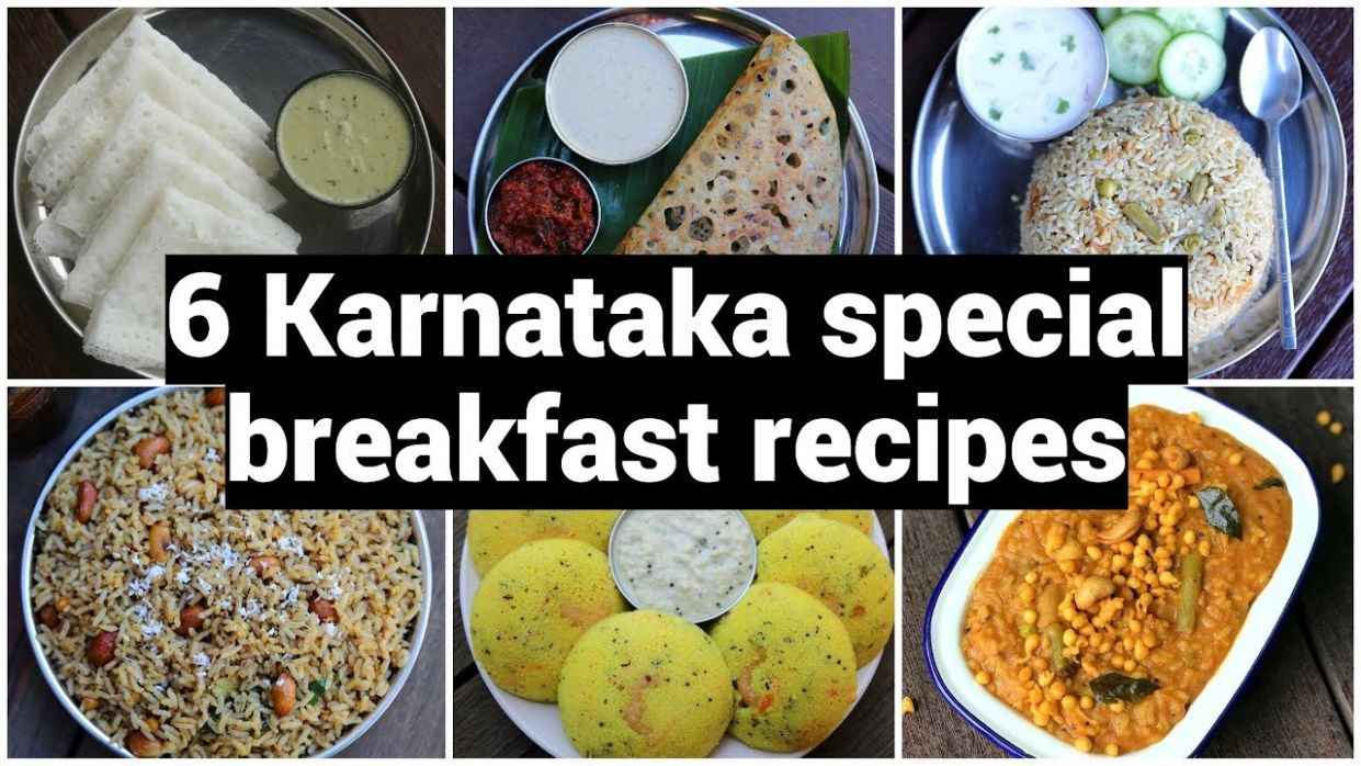 10 Karnataka special breakfast recipes | ಬೆಳಗಿನ ತಿಂಡಿಗಳು ಮಾಡುವ ವಿಧಾನ | quick  & easy breakfast recipes - Breakfast Recipes Karnataka