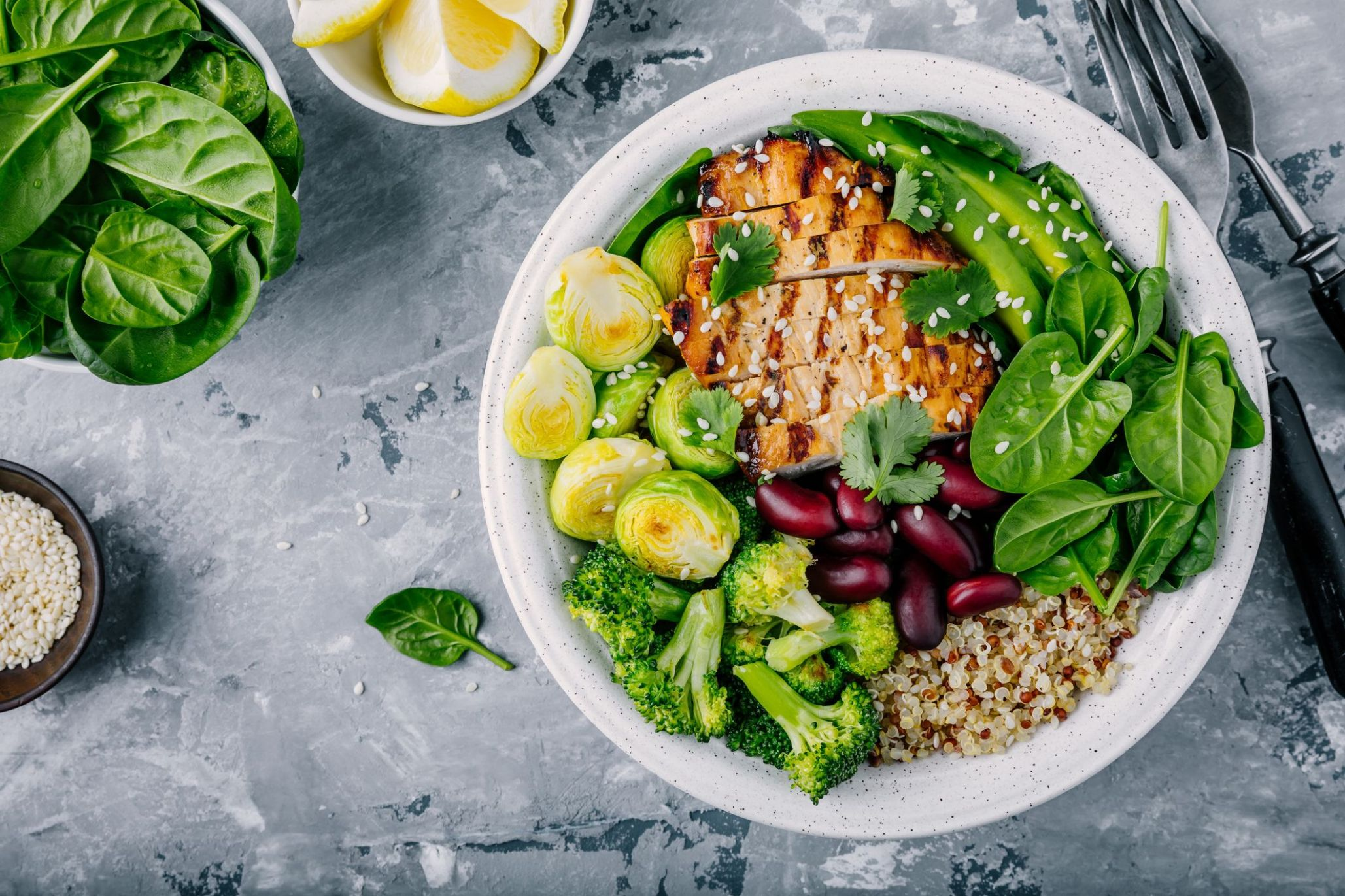 10 Low-Calorie, High-Protein Salads That Won't Leave You Hungry