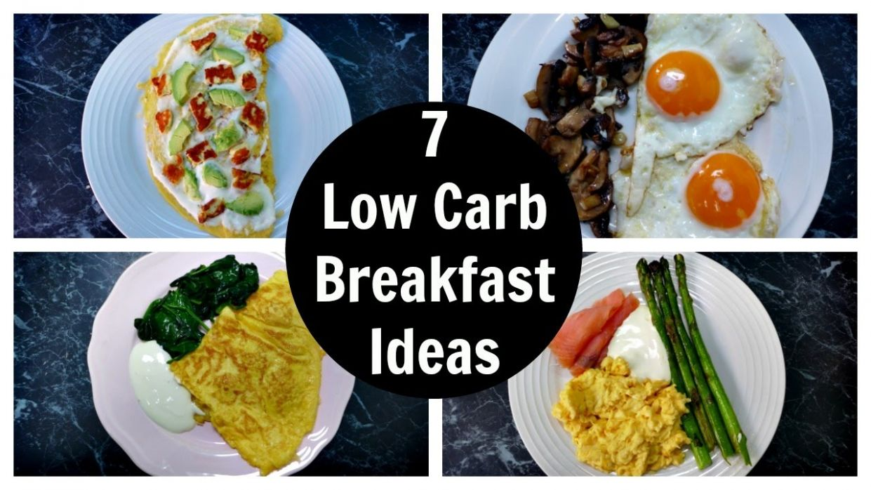 10 Low Carb Breakfast Ideas - A Week Of Keto Breakfast Recipes - Breakfast Recipes With Zero Carbs