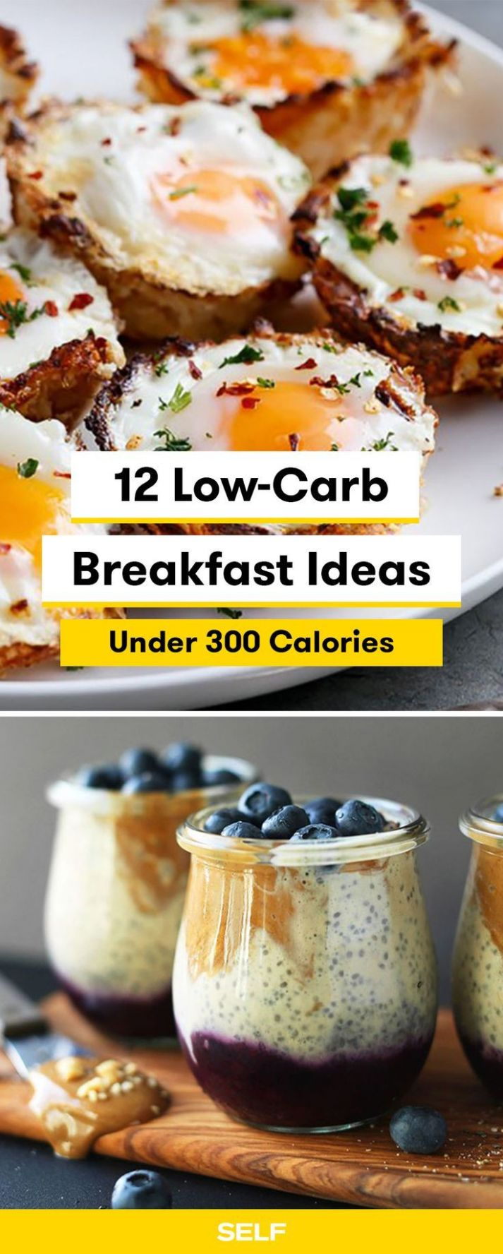 10 Low-Carb Breakfast Ideas Under 10 Calories | Low calorie ..