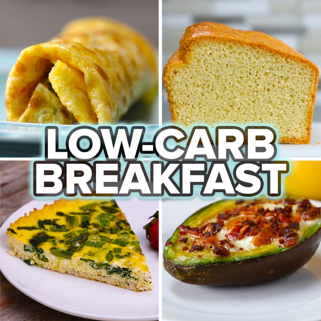 10 Low-Carb Breakfasts | Recipes
