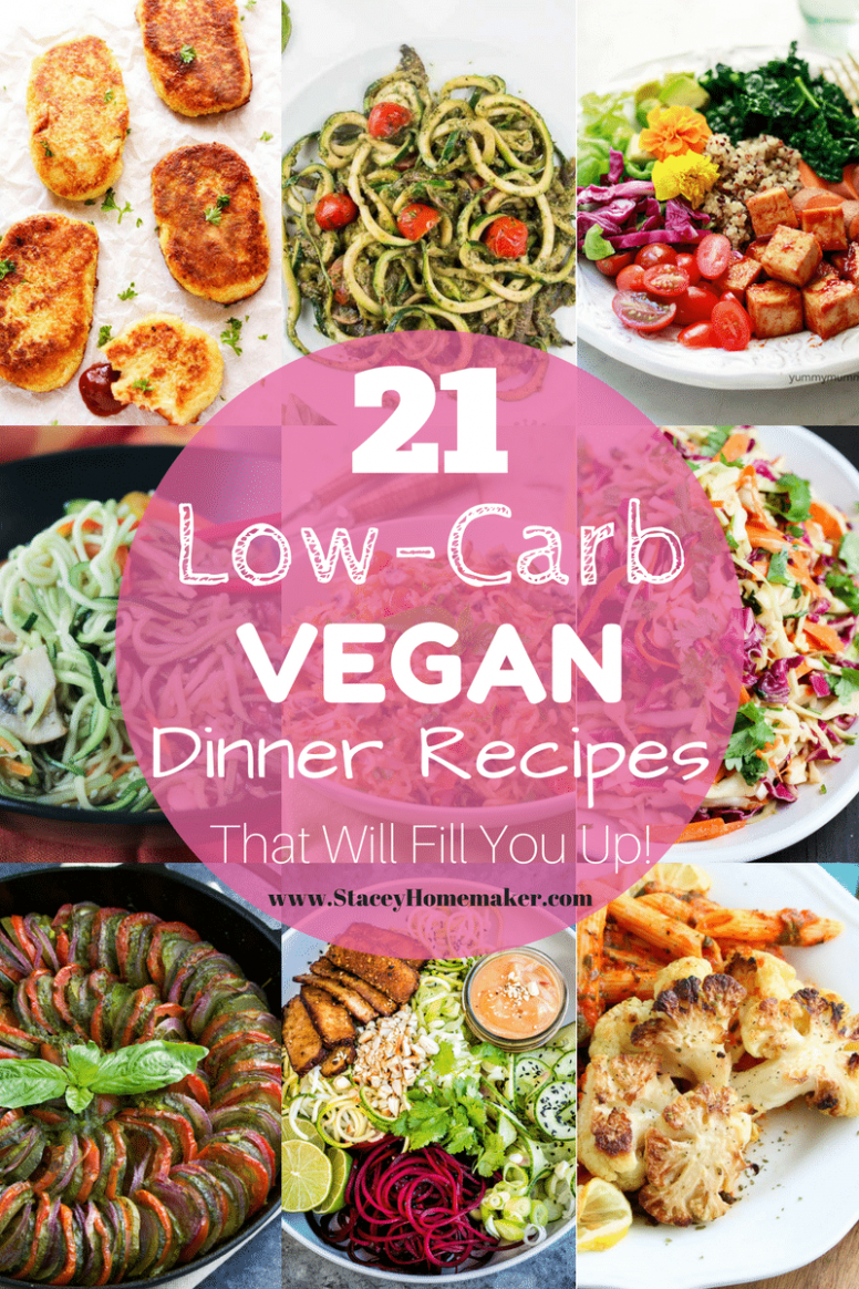 10 Low-Carb Vegan Recipes That Will Fill You Up!