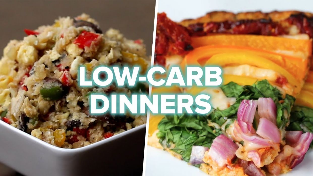 10 Low-Carb Veggie Dinners - Recipes Vegetarian No Carbs