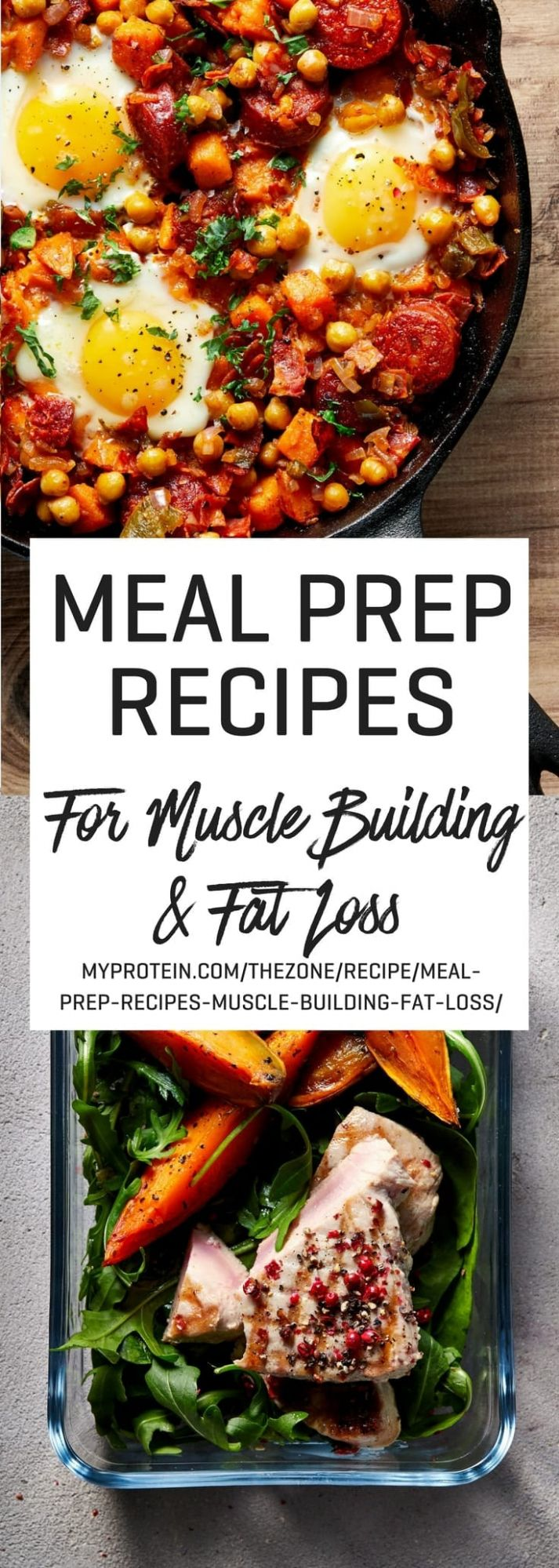 10 Meal Prep Recipes For Muscle Building & Fat Loss | MYPROTEIN™