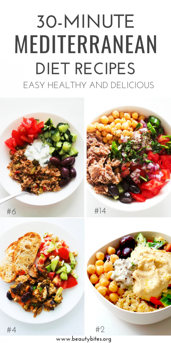 10 Mediterranean Diet Recipes That Take 10 Minutes Or Less ..