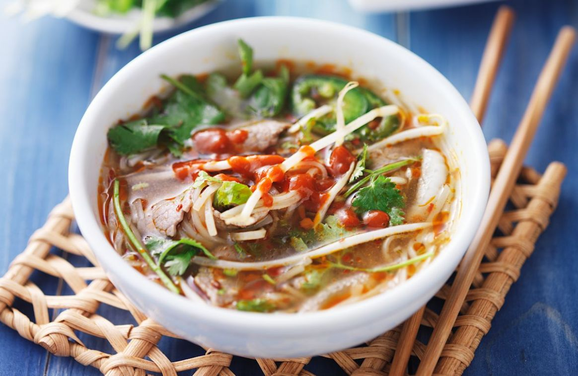 10-Minute Asian Beef Soup - Soup Recipes Asian