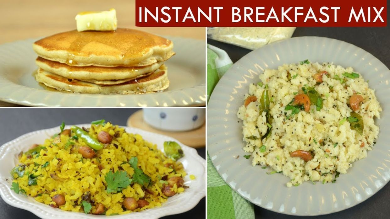 10 Minute Breakfast | Homemade Instant Breakfast Mixes | Time Saving Recipes
