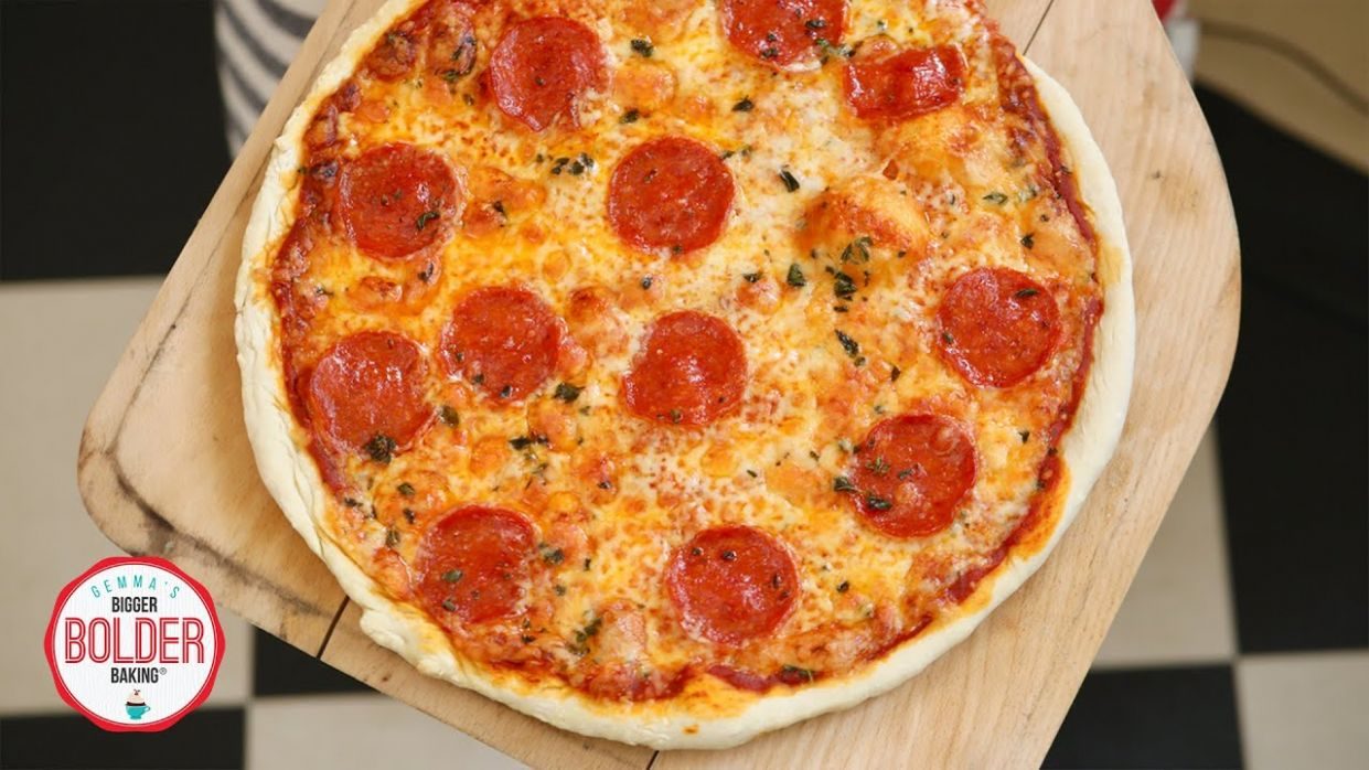 10-Minute Pizza Dough Recipe (No Yeast)   Bigger Bolder Baking - Pizza Recipes Without Yeast