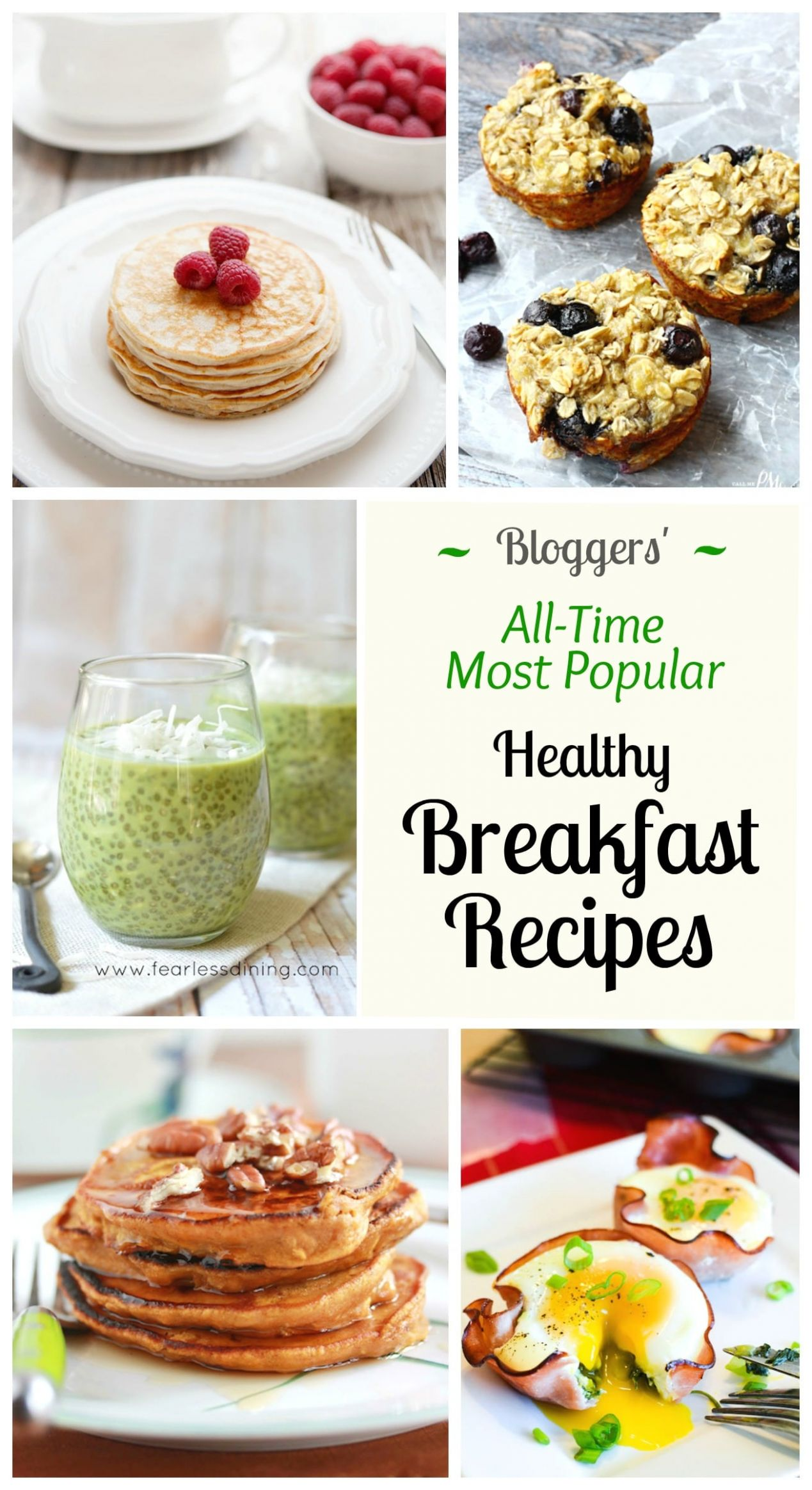 10 of the All-Time Best Healthy Breakfast Ideas - Two Healthy Kitchens - Easy Recipes Healthy Breakfast