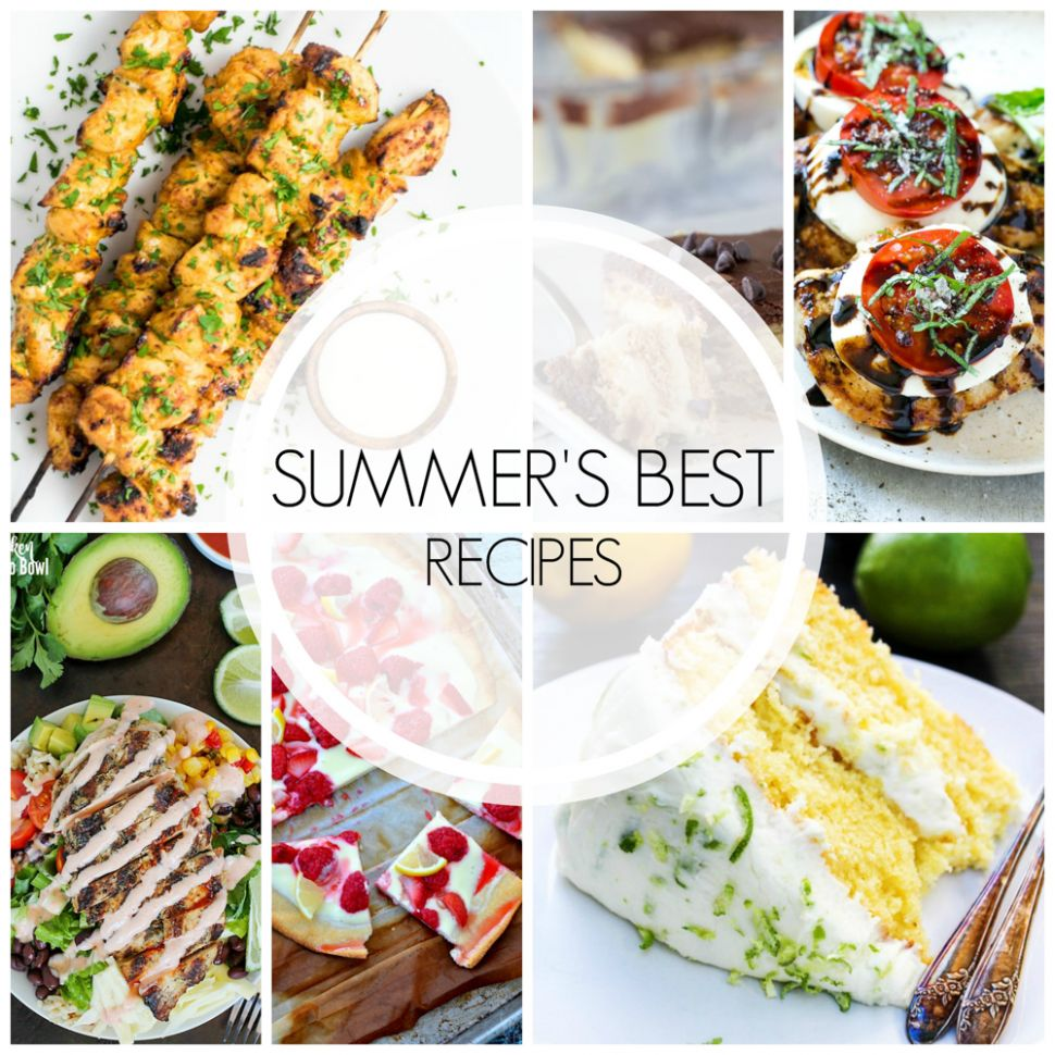 10 of the Best Summer Recipes - Cooking and BeerCooking and Beer - Summer Recipes Good Food