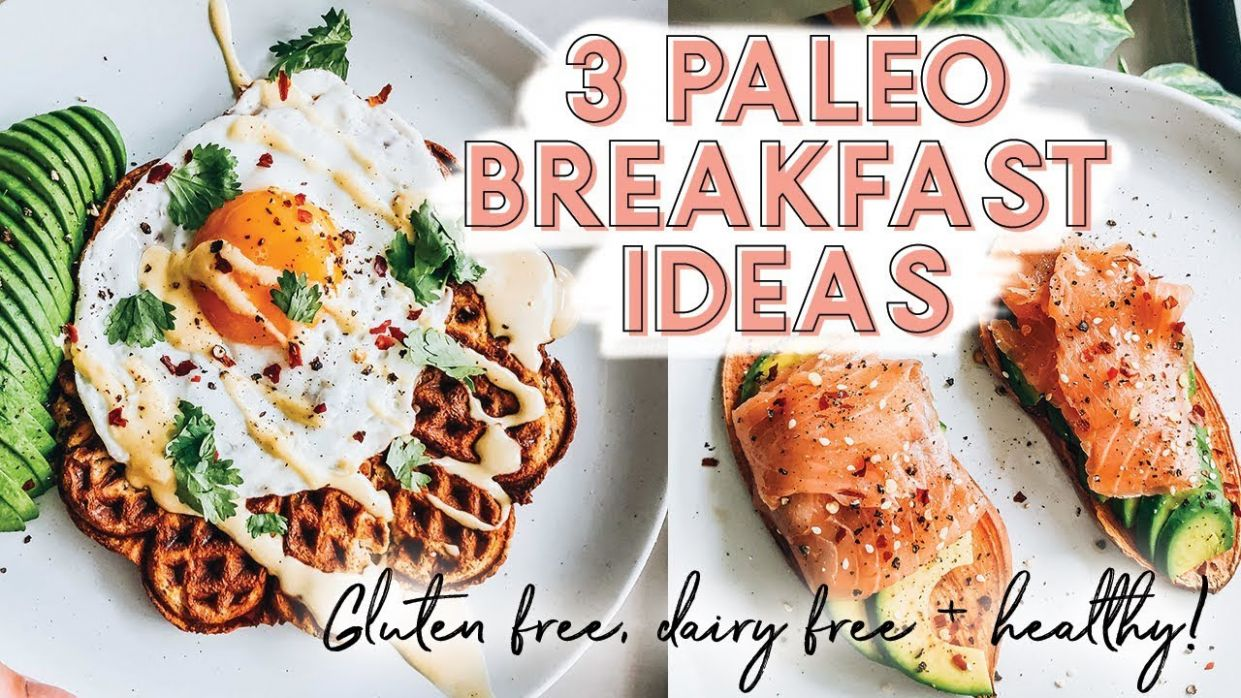 10 PALEO BREAKFAST RECIPES | Gluten free, dairy free + healthy! - Breakfast Recipes Paleo