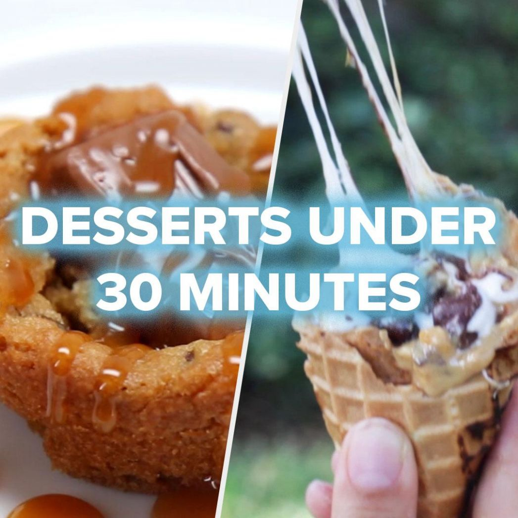 10 Quick Desserts For Last-Minute Parties | Recipes - Dessert Recipes Easy And Quick