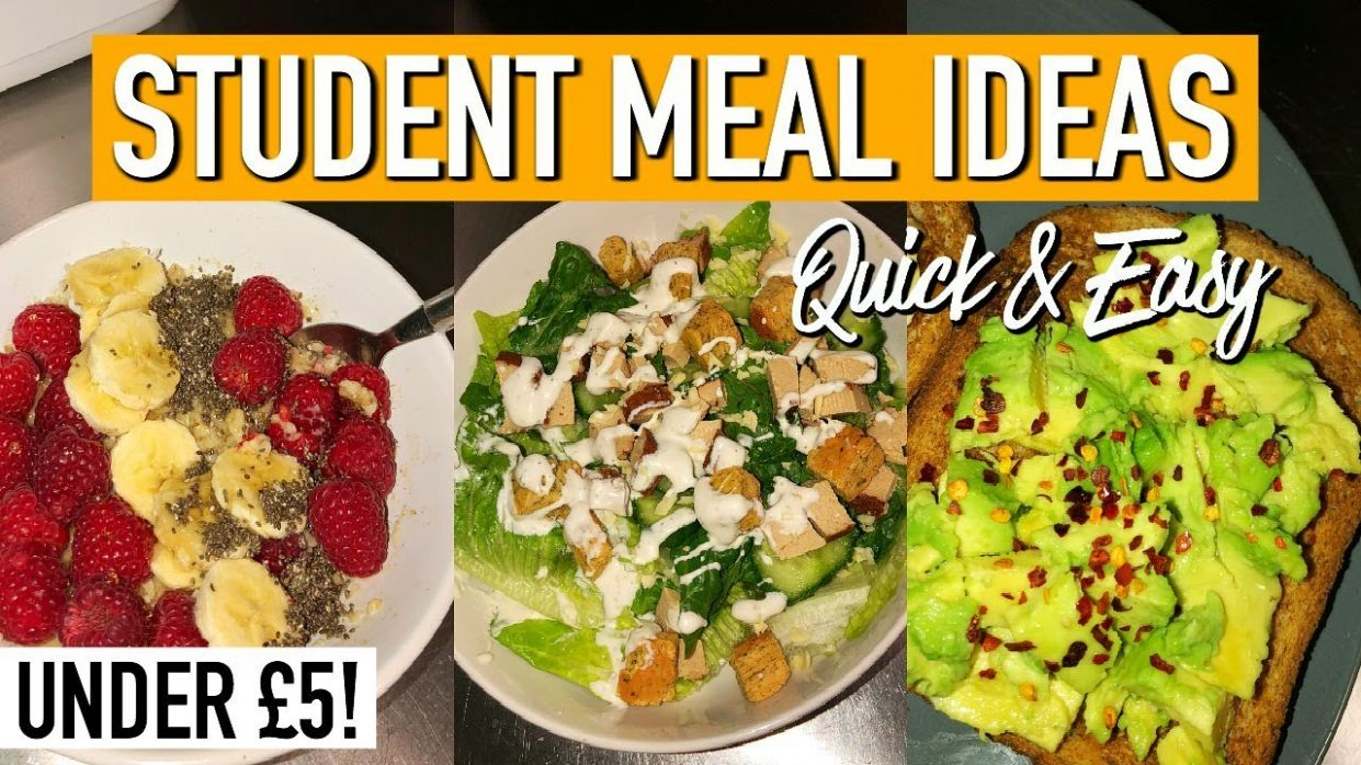10 Quick, Easy & CHEAP Meals for Students | BUDGET MEALS FOR UNI/COLLEGE - Easy Recipes For Students
