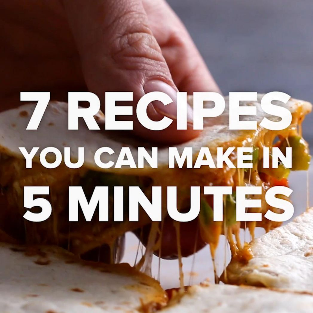 10 Recipes You Can Make In 10 Minutes